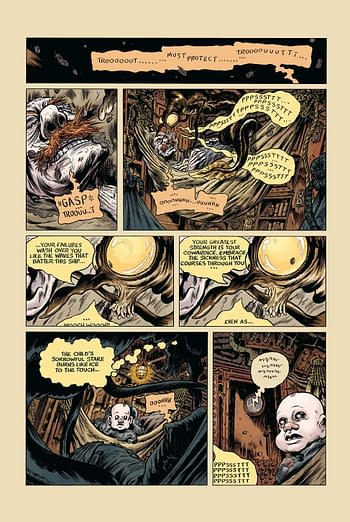 Trout: The Hollowest Knock Is the Next Weird Comic You Shouldn't Live Without