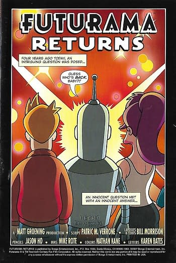 Futurama Returns Page 1