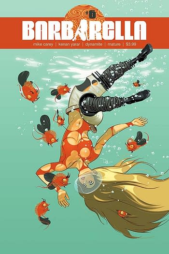 Exclusive Extended Previews: Barbarella #6, Dejah Thoris #4, Xena #4, and More