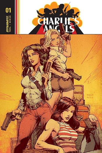 Exclusive Extended Previews of Charlie's Angels #1, Vampirella: Roses for the Dead #1, and More