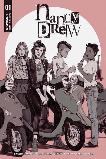 Exclusive Extended Preview of Nancy Drew #1, Dejah Thoris #5 and More