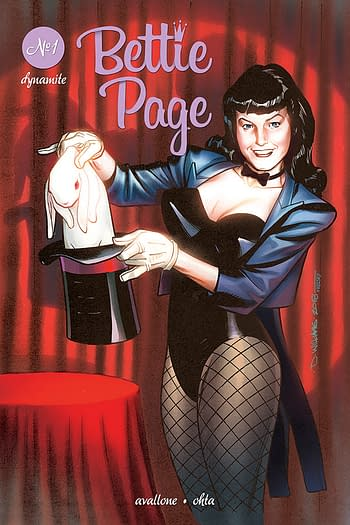 Bettie Page Comes to London in November from Dynamite