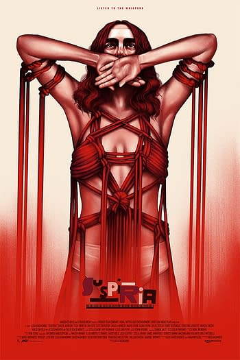 Mondo Suspiria Poster by Deck 2
