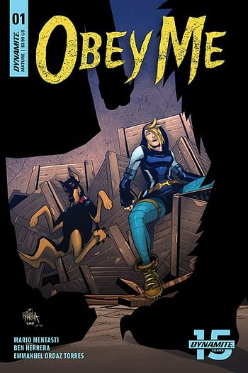 Ben Herrera and Emmanuel Ordaz Torres's Obey Me Launches in Dynamite Solicits for April 2019