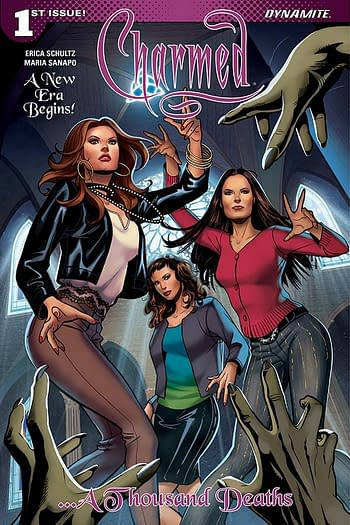 The Charmed #1 cover from Dynamite Entertainment.