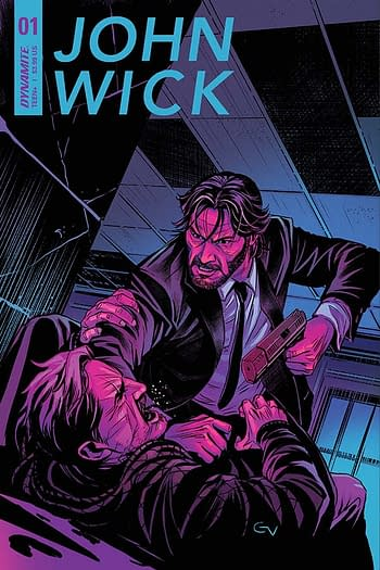 Dynamite Entertainment's cover to John Wick #1.