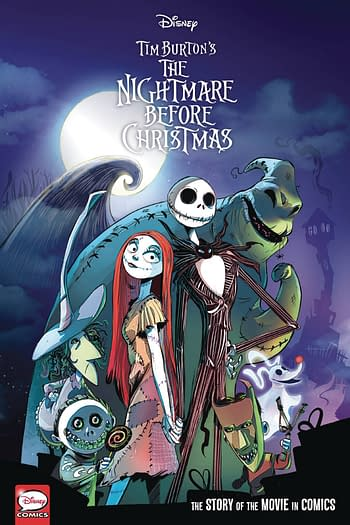 Disney Nightmare Before Christmas Movie In Comics HC