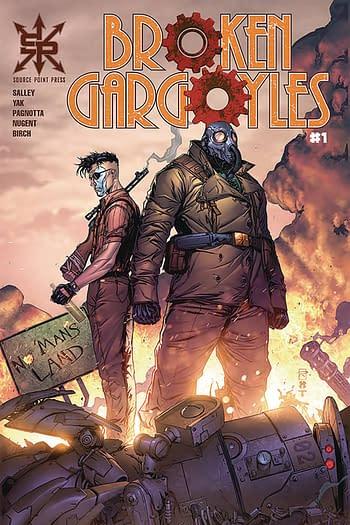 Broken Gargoyles #1 Main Cover