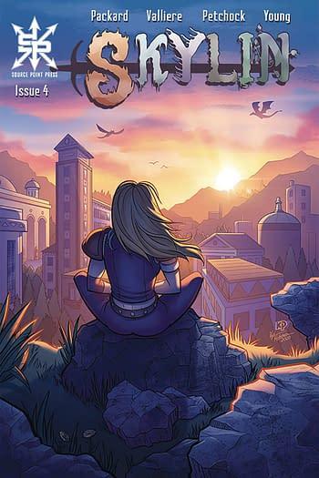 Skylin #4 Main Cover