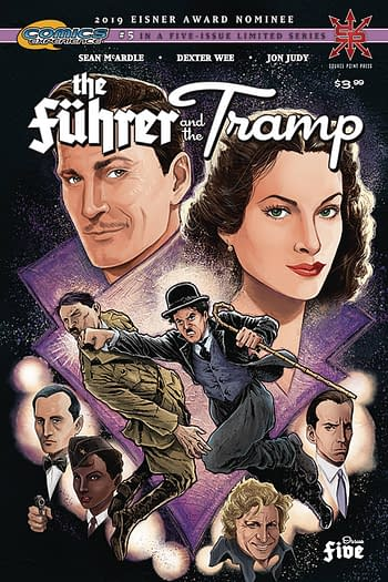 The Fuerer And The Tramp #5 Main Cover