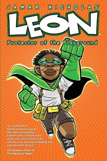 Scholastic Graphix to Publish Jamar Nicholas' Leon Graphic Novels