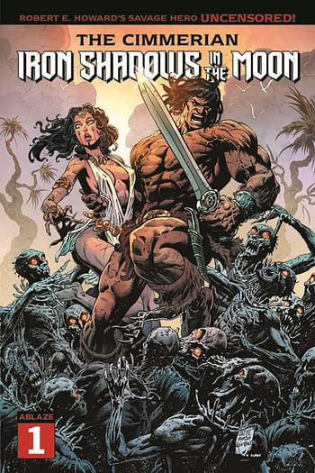 Conan Returns To Ablaze Comics For Iron Shadows in the Moon, in April