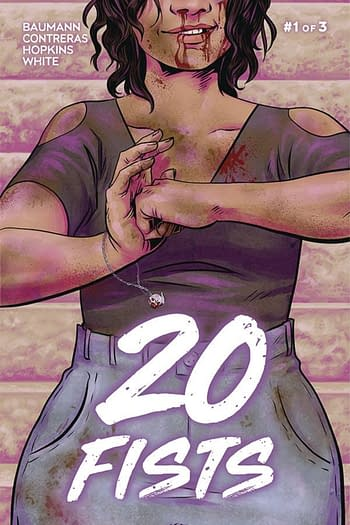 Frankee White & Kat Baumann's 20 Fists #1 From Source Point in April