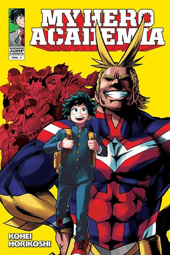 Marvel Comics X Shonen Jump, Starts With My Hero Academia/Deadpool