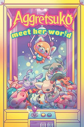 Cover image for AGGRESTUKO MEET HER WORLD HC
