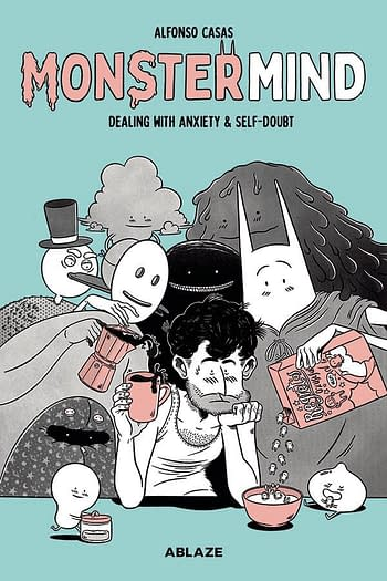 Cover image for MONSTERMIND HC DEALING WITH ANXIETY & SELF-DOUBT