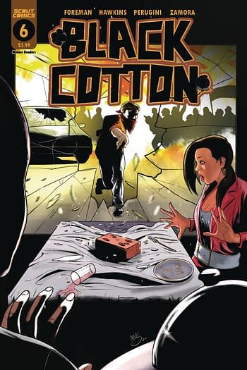 Cover image for BLACK COTTON #6 (OF 6)