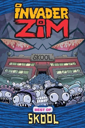 Cover image for INVADER ZIM BEST OF SKOOL GN