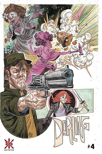 Cover image for DARLING #4 CVR B RIEGEL (MR)