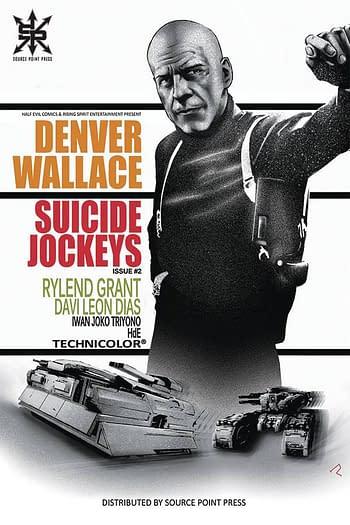 Cover image for SUICIDE JOCKEYS #2 CVR B ALVES (MR)