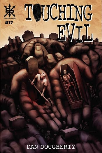 Cover image for TOUCHING EVIL #17