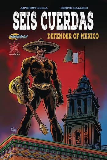 Cover image for SEIS CUERDAS DEFENDER OF MEXICO TP (MR)