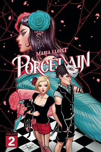 Cover image for MARIA LLOVETS PORCELAIN #2 CVR B RICH