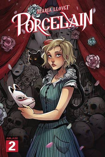Cover image for MARIA LLOVETS PORCELAIN #2 CVR C LUSKY