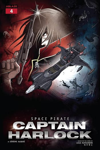 Cover image for SPACE PIRATE CAPT HARLOCK #4 CVR E ALQUIE