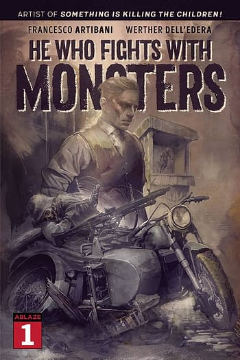 Cover image for HE WHO FIGHTS WITH MONSTERS #1 CVR C QUINTANA (MR)