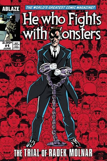 Cover image for HE WHO FIGHTS WITH MONSTERS #1 CVR D MOY R (MR)