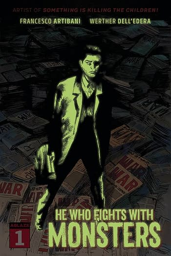 Cover image for HE WHO FIGHTS WITH MONSTERS #1 CVR G 20 COPY GLOW IN DARK (M