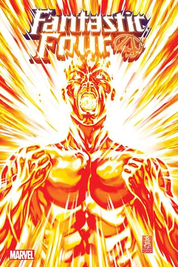 The Human Torch - Flame On Forever in Fantasic Four #36