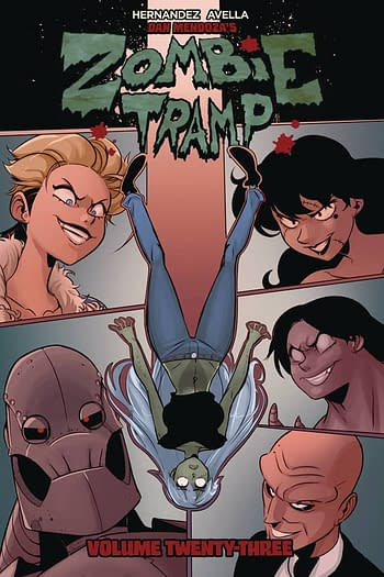 Cover image for ZOMBIE TRAMP TP VOL 23 (OF 23) (MR)