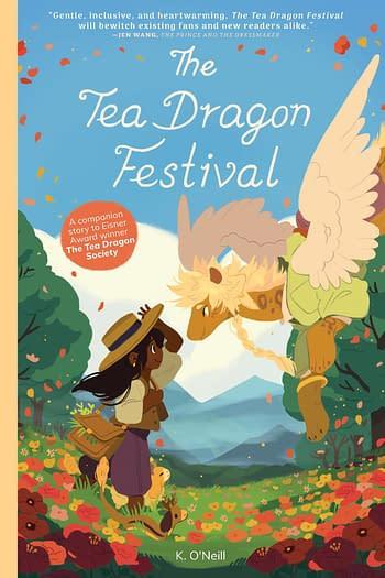 Cover image for TEA DRAGON FESTIVAL TP