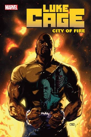 Ho Che Anderson's First Marvel Comic, Luke Cage, in October