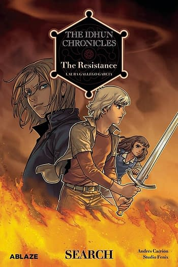 Cover image for IDHUN CHRONICLES GN VOL 01 RESISTANCE SEARCH