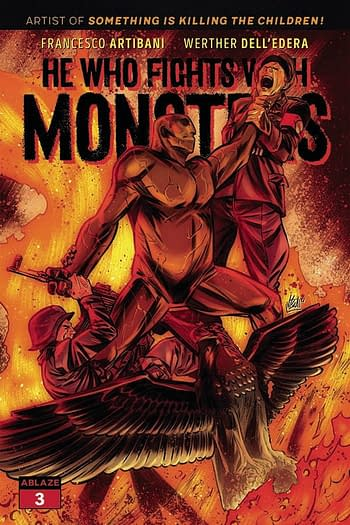 Cover image for HE WHO FIGHTS WITH MONSTERS #3 CVR C VINCENZO FEDERICI (MR)