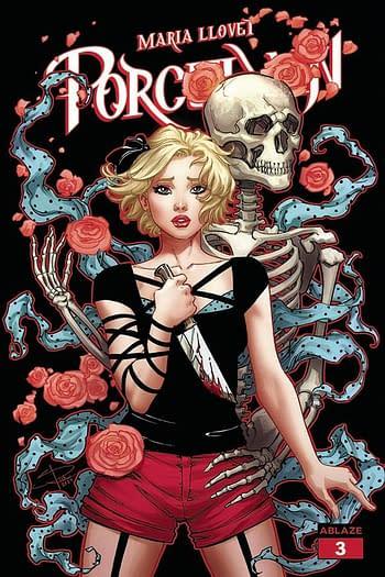 Cover image for MARIA LLOVETS PORCELAIN #4 CVR C SABINE RICH (MR)