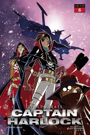 Cover image for SPACE PIRATE CAPT HARLOCK #6 CVR A QUALANO