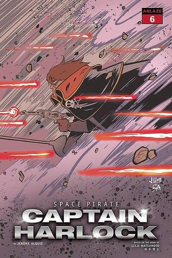 Cover image for SPACE PIRATE CAPT HARLOCK #6 CVR B JUNI BA