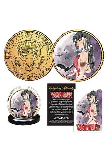 Cover image for VAMPIRELLA MOMOKO VAMPIRELLA #12 COLL COIN (O/A)