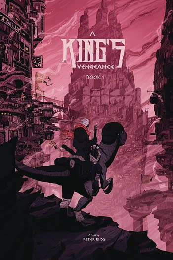 Cover image for A KINGS VENGEANCE #1
