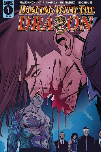 Cover image for DANCING WITH DRAGON #3 (OF 4)
