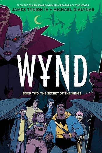 Cover image for WYND HC BOOK 02 SECRET OF THE WINGS