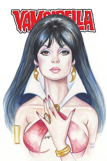 Cover image for VAMPIRELLA #1 GOLIGHTLY CROWDFUNDER EXC CVR
