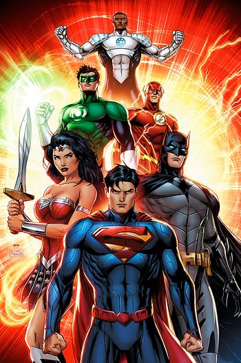 Michael Turner's Justice League By Way Of Jeremy Roberts