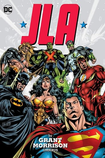 A Very Peculiar Cover To JLA Omnibus
