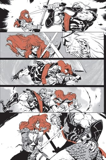 Roy Thomas's Origin of Red Sonja to Be Published by Dynamite in November