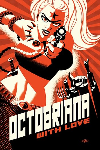 Cover image for OCTOBRIANA WITH LOVE #1 CVR C 4 COPY MIXED INCV MICHAEL CHO